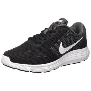 NIKE Women's Revolution 3 Running Shoe, Dark Grey/White/Black