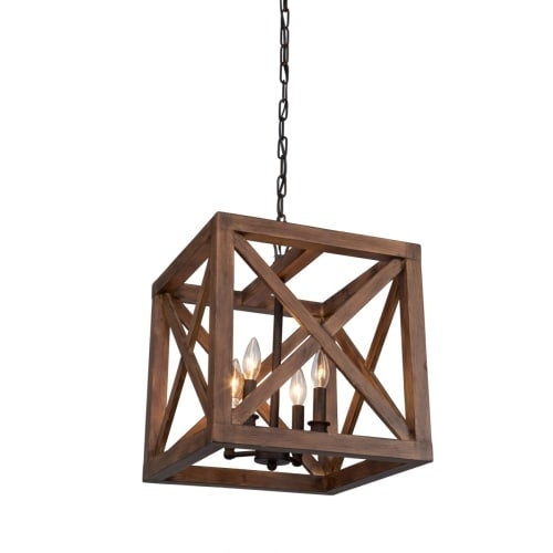 Artcraft Lighting JA14004 Collingwood 4 Light Pendant
