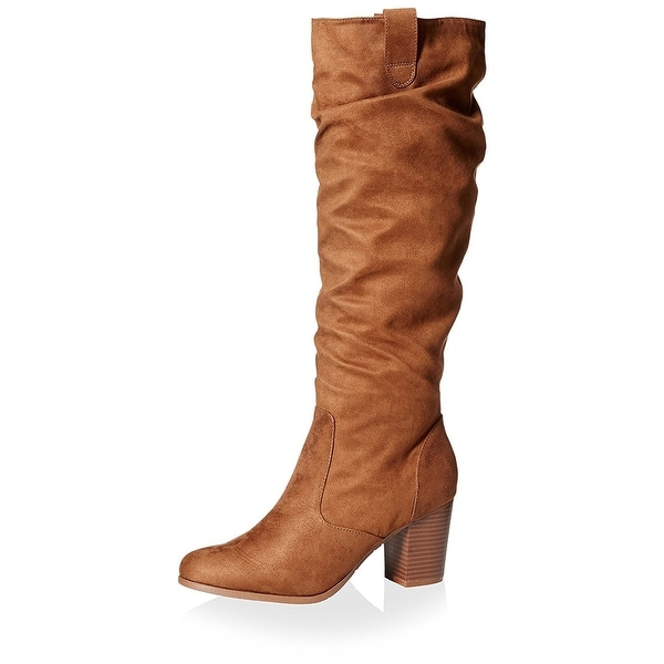 Kenneth Cole Reaction Womens Lady Sway Almond Toe Mid-Calf Fashion Boots