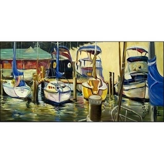 Carolines Treasures JMK1347HRM2858 Sailboats Yacht Club Indoor & Outdoor Runner Mat 28 x 58 in.