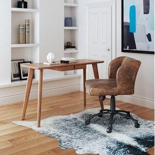 Link to Zane Dark Walnut Finish Wood 1-drawer Modern Desk Similar Items in Computer Desks