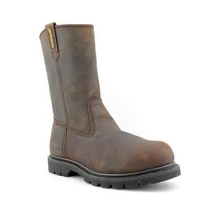 Caterpillar Revolver Steel Toe Men Steel Toe Leather Brown Work Boot