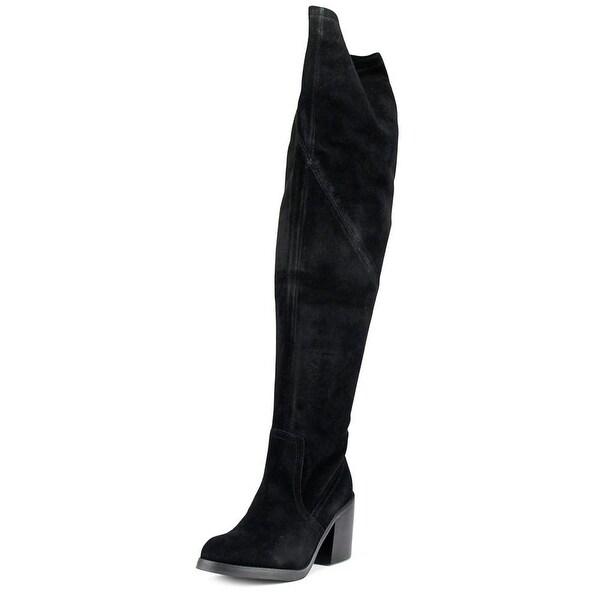 ShoeMint Yolanda Black Boots