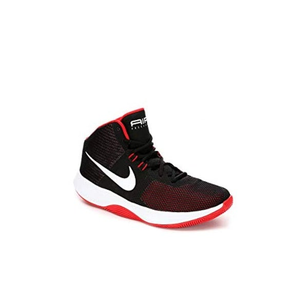 17c0eaccacd Shop Nike Mens Air Precision Nbk Black White University Red - Free Shipping  Today - Overstock - 27121966
