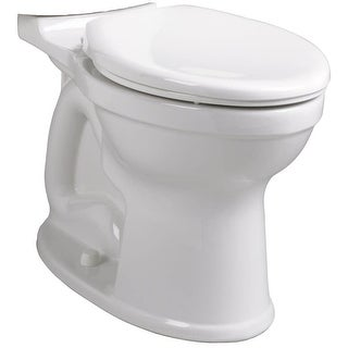 American Standard 3195A.101  Champion Pro Elongated Toilet Bowl Only with EverClean Surface, PowerWash Rim and Right Height Bowl