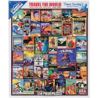 "Jigsaw Puzzle 550 Pieces 18""X24""-Travel The World"