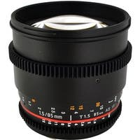 Rokinon 85mm T1.5 Cine Lens for Sony A - Black