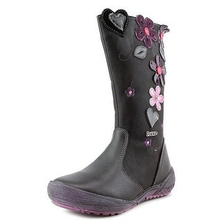 Beeko Ginger IV Youth Round Toe Synthetic Black Boot