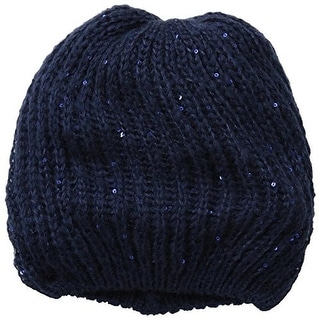 Sperry Womens Sequined Stretch Beret - o/s