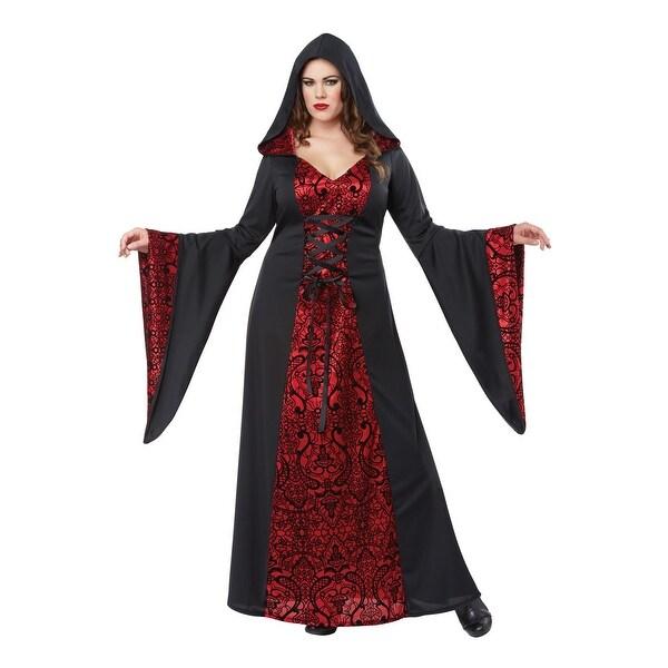 1b105c2adb California Costumes Gothic Robe Plus Size Costume - Red/Black