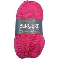 Berger De France Coton Satine Yarn-Fushia