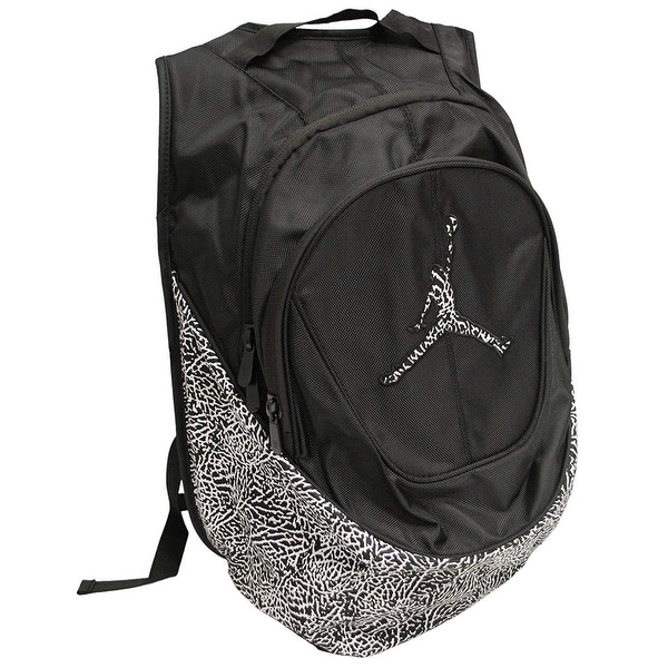 df24c017d5 Nike Jordan Jumpman Elementary Elephant Print Students Large Backpack with  Laptop Sleeve 9A1414