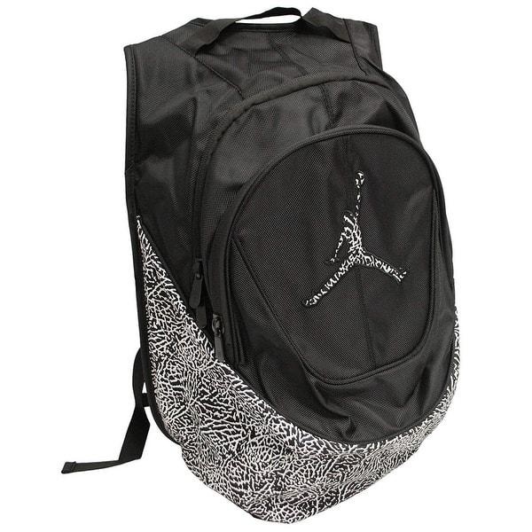 300852cb4ec Nike Jordan Jumpman Elementary Elephant Print Students Large Backpack with  Laptop Sleeve 9A1414