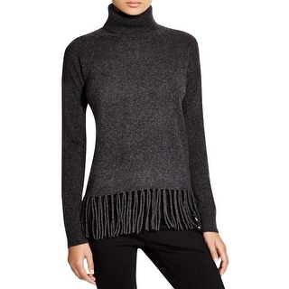 Private Label Womens Sweater Cashmere Fringe