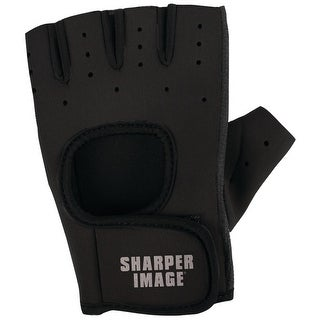 Sharper Image Fitness Gloves (sm; Black)