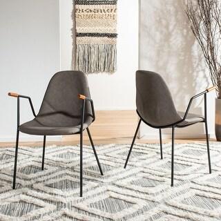 "Safavieh Tanner Mid-Century Dining Chair (Set of 2) - 21"" x 22.5"" x 33"""