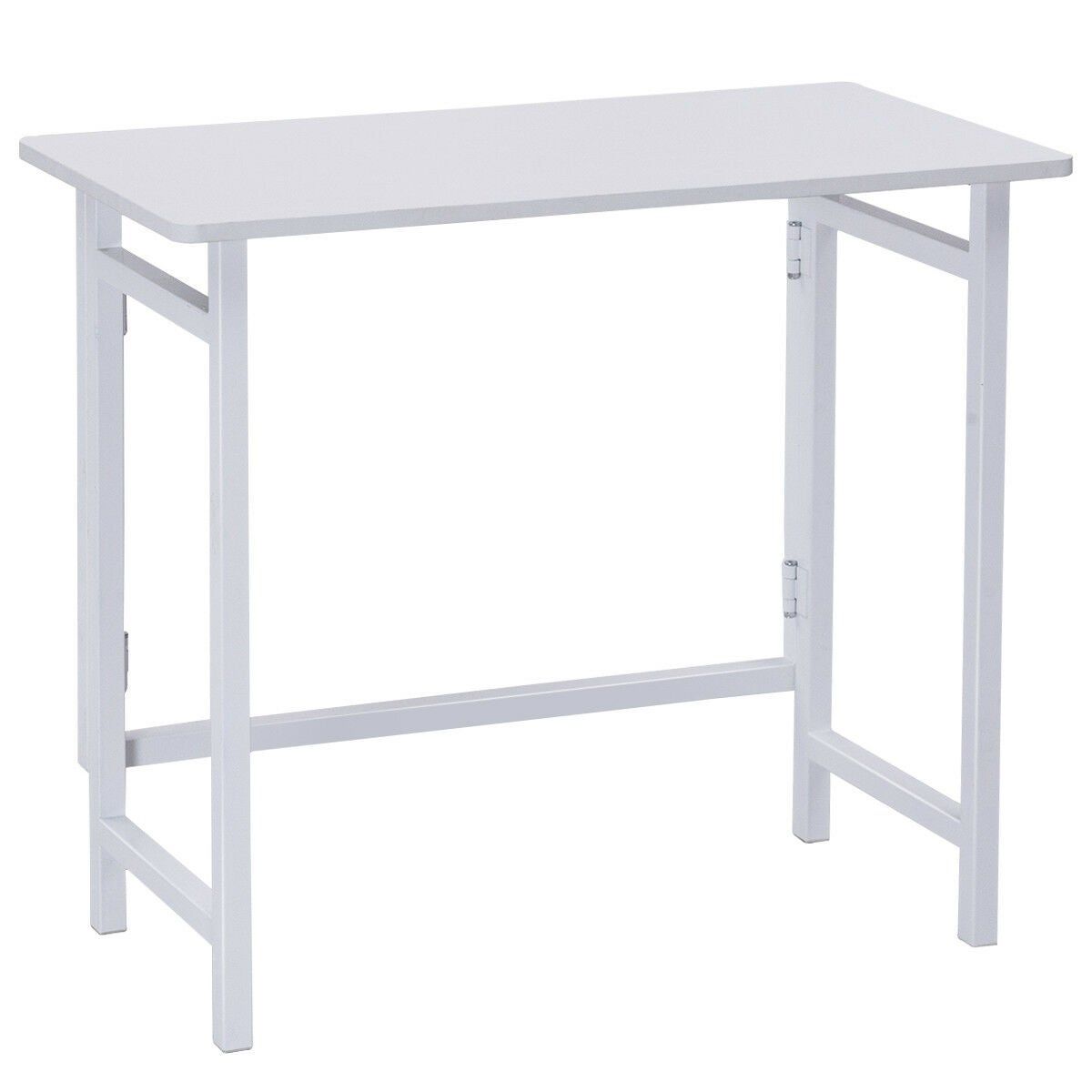 Foldable Computer Desk Folding PC Table Home Office Collapsible Workstation