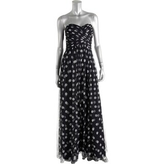 Lauren Ralph Lauren Womens Formal Dress Strapless Full-Length