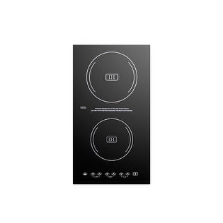 Summit SINC2220 12 Inch Wide Built-In Electric Induction Cooktop - Black - N/A