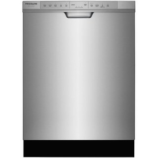 Frigidaire FGCD2444 24 Inch Wide 14 Place Setting Energy Star Rated Built-In Dishwasher with DishSense? Technology