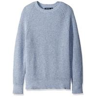 Nautica NEW Chrome Blue Mens Size Large L Crewneck Knit Sweater