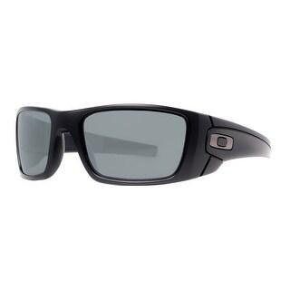 OAKLEY Sport Fuel Cell Men's 009096-05 Black Gray Polarized Sunglasses - 60mm-19mm-130mm