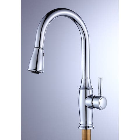 TiramisuBest Stainless Steel Kitchen Faucet-Single Handle