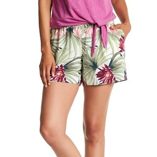 Tommy Bahama NEW White Women's Size Medium M Proteia Garden Shorts