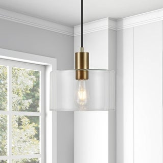 Link to Henri Hand-Blown Metal/Glass Pendant (Optional Finishes) Similar Items in Pendant Lights