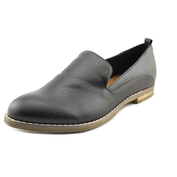 Indigo Rd. Hestley Women Square Toe Synthetic Black Loafer