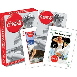 Coca Cola Beauties Playing Cards