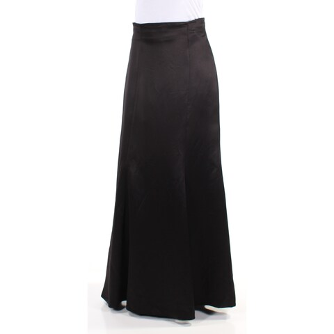 Womens Black Evening Skirt Size 2