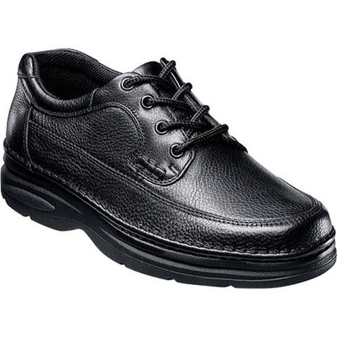 Nunn Bush Men's Cameron Moc Toe Oxford Comfort Gel Black Tumble