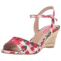 26a3ecb95ac1 Betsey Johnson Womens Athena Open Toe Casual Platform Sandals