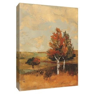 "PTM Images 9-154373  PTM Canvas Collection 10"" x 8"" - ""Autumn Hills III"" Giclee Rural Art Print on Canvas"