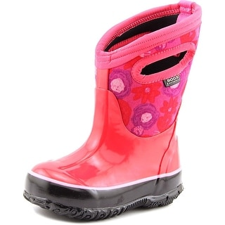 Bogs Classic Watercolor Round Toe Synthetic Rain Boot