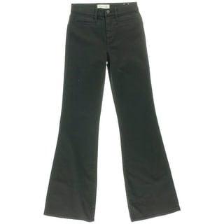 Madewell Womens Flea Market Denim Mid-Rise Flare Jeans - 32