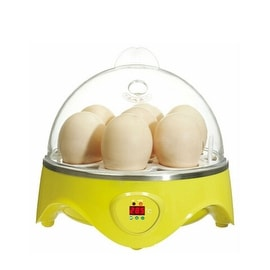 Mini Incubator 7 Egg Capacity Automatic Digital Chicken Duck Bird Hatch Tool 220V