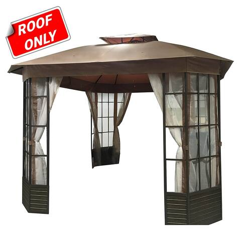 Sunjoy Replacement canopy set for L-GZ120PST-G Lake Charles Gazebo