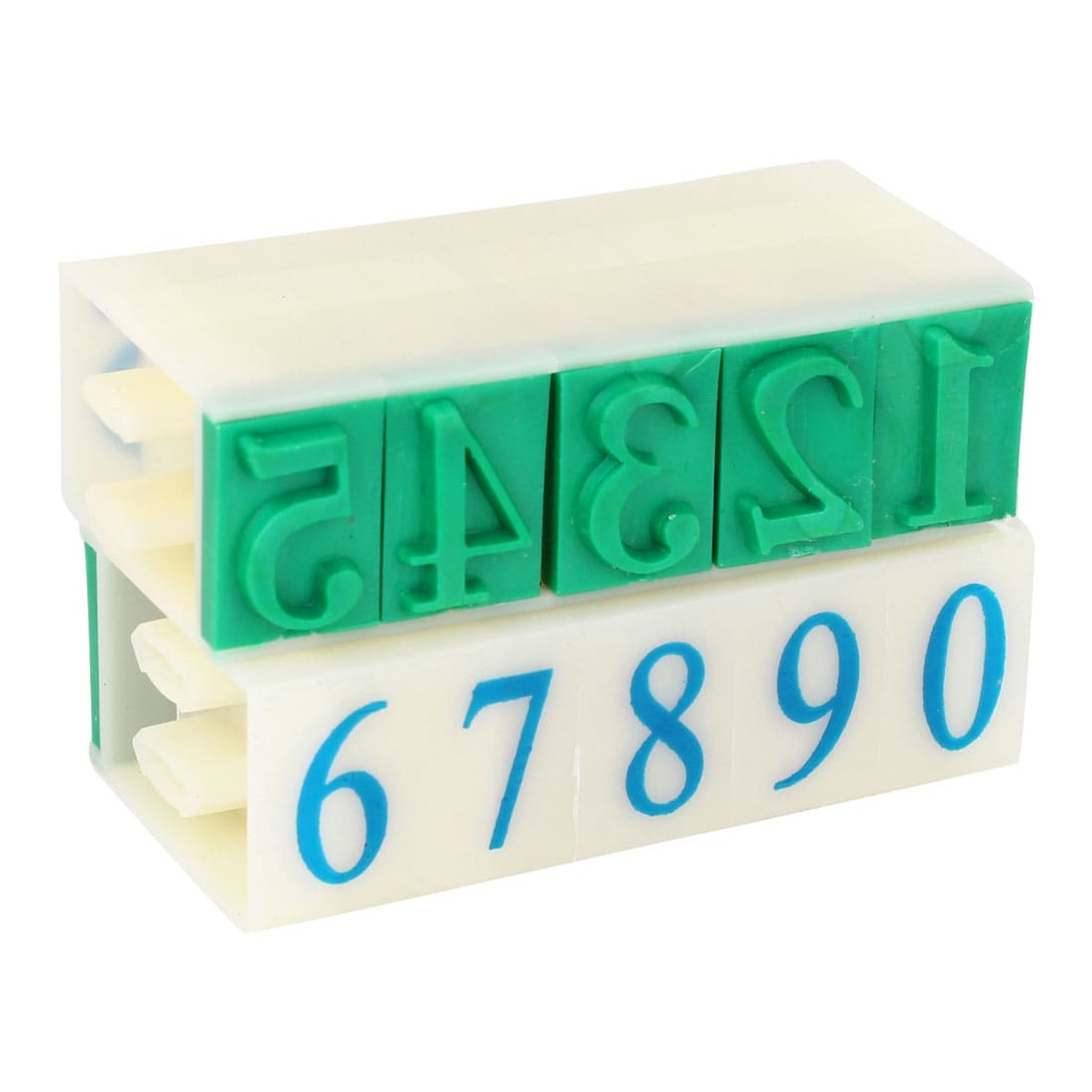 digits with magnets different colors Arabic numbers