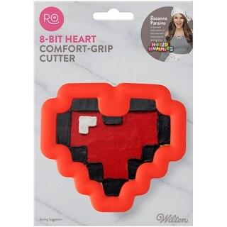 Ro Comfort Grip Cookie Cutter-8-Bit Heart