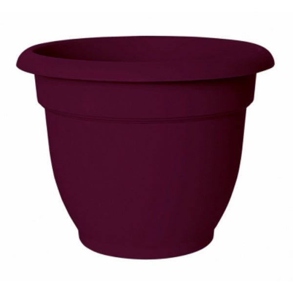 """Bloem AP0829 Ariana Planter with Self-Watering Disc Insert, Passion Fruit, 8"""""""