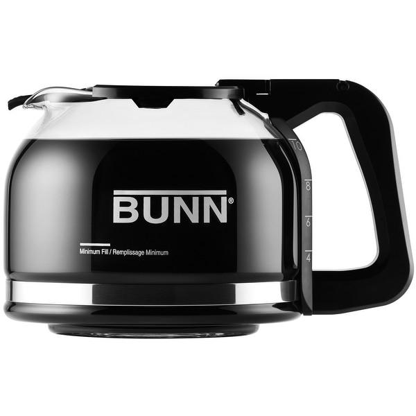 Bunn 49715.0100 Pour-O-Matic Drip Free 10-Cup Carafe, Black