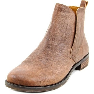 Lucky Brand Night Women Round Toe Leather Ankle Boot