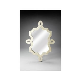 BUTLER 3484325 48 in. Bone Inlay Wall Mirror
