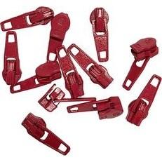 Red - Make-A-Zipper Spare Pulls