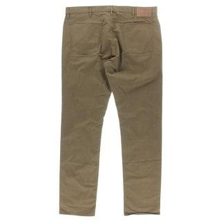 Polo Ralph Lauren Mens York Varick Twill Mid-Rise Straight Leg Jeans - 36/32