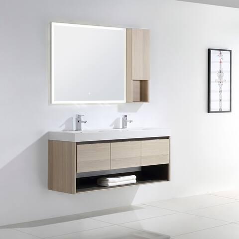 "Laila 48"" Double Bathroom Vanity Set"