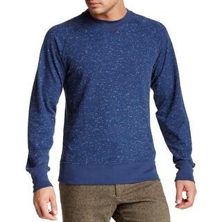 Billy Reid NEW Blue Navy Mens Size XL Crewneck Pullover Martin Sweater