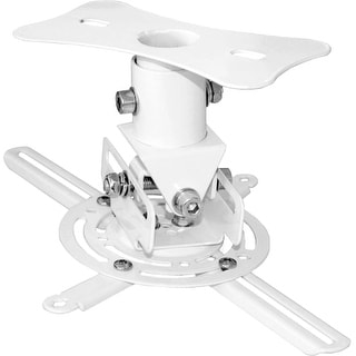 PyleHome PRJCM6 PyleHome PRJCM6 Ceiling Mount for Projector - 30 lb Load Capacity - White